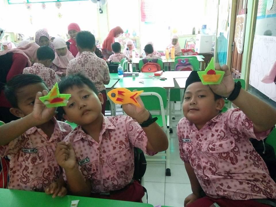 Anak-anak Begitu antusias