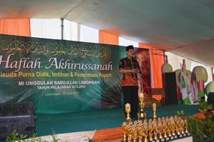 Sambutan Oleh Kepala Madrasah