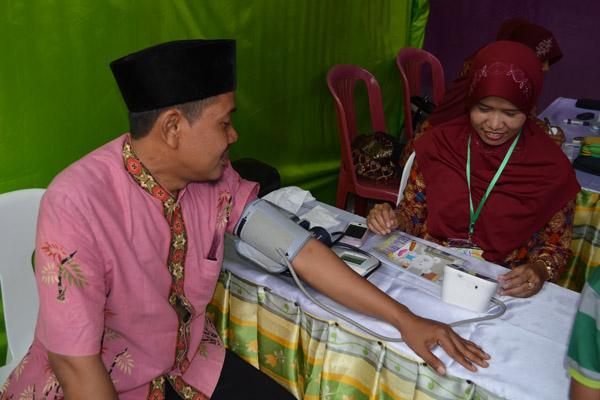 PPAI Lamongan Mencoba Check Darah Gratis