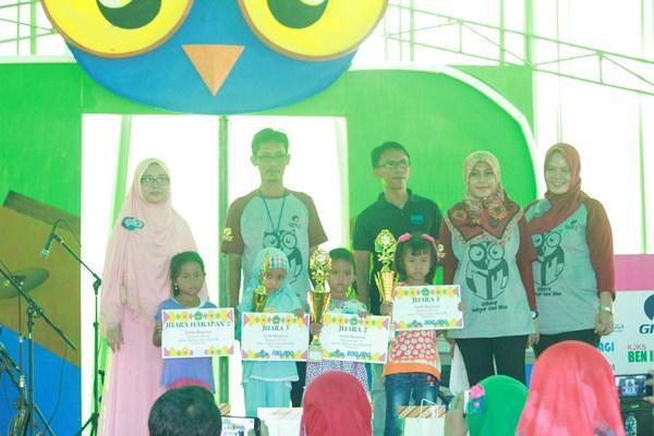 Juara Lomba Mewarnai Tingkat Play Group