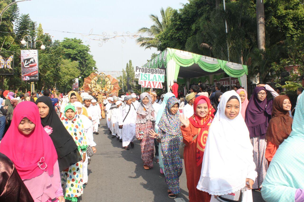 Start di depan Pendopo Lokatantra
