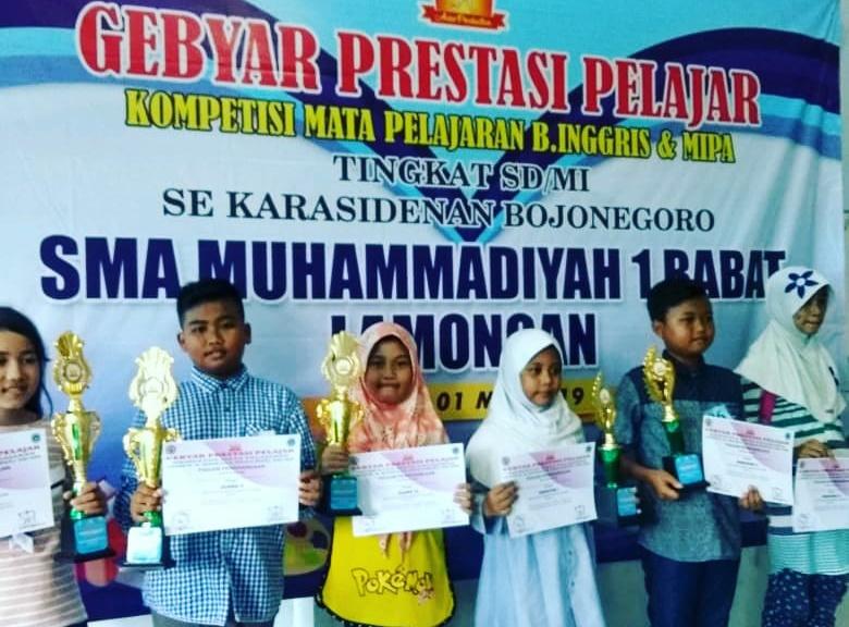 Prestasi anak-anak MIUS di Bulan Mei